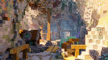 🔦BIG MINE FOR 1.17 [New Blocks]🔦 | [PRISMABUILDS] Minecraft Map & Project