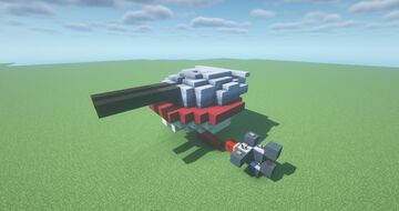ABT  -  Armored TNT Cannon ( Adjustable Arc | Movecraft Compatible | Turret | Battleship ) Minecraft Map & Project