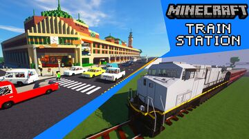 Flinders Street Central Station Minecraft Map & Project