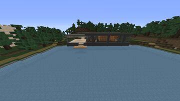 Batman Vs Superman Glass House and Wayne Manor Minecraft Map & Project
