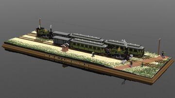 'Bello' | 10:1 Diorama Minecraft Map & Project