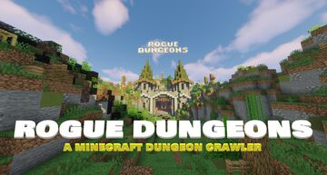 Rogue Dungeons: A Minecraft Dungeon Crawler Minecraft Map & Project
