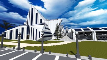 Modern Travel Center Minecraft Map & Project
