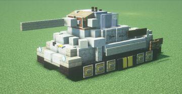 (Pz.Kpfw.) Škoda T 25 (Late) (1.5:1 Scale) Minecraft Map & Project