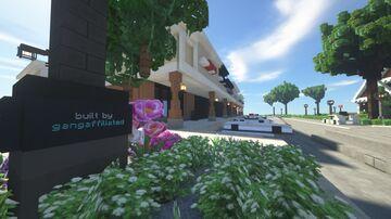 Strip Mall Minecraft Map & Project