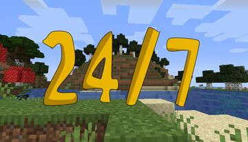 24/7 Minecraft Map & Project
