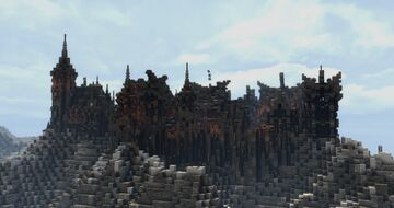 Haskrevik Mountain Village (Conquest reforged) Minecraft Map & Project