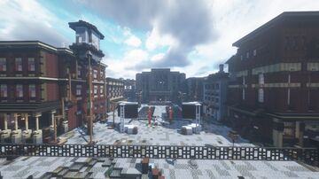 The Hunger Games: District 7 Creation | Panem Forever Minecraft Map & Project
