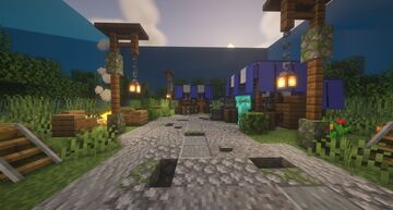 Medieval Stalls Minecraft Map & Project