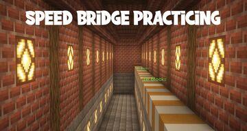 Speed Bridge Practicing Minecraft Map & Project