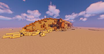 S.S. Cornus Wreck Minecraft Map & Project