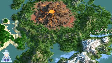 Alone - 4000x4000 | Landscape & Survival map 1.16+ | Bedrock support Minecraft Map & Project