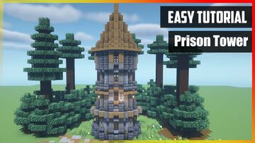 ⚒️ Minecraft: How to Build a Prison Tower Minecraft Map & Project