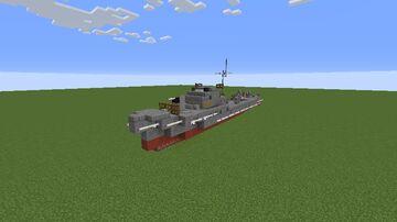 1:1 Fairmile C motor gun boat Minecraft Map & Project
