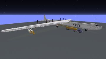B-36 Peacemaker Big scale Minecraft Map & Project