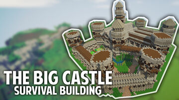 The big castle Minecraft Map & Project