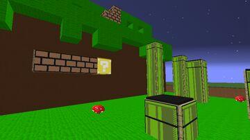 Super Mario Map Art Minecraft Map & Project