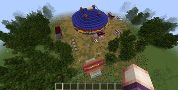 Sirkus Finlandia -Finnish circus Minecraft Map & Project