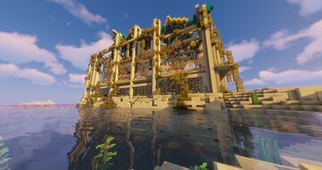 Desert PVP arena Minecraft Map & Project