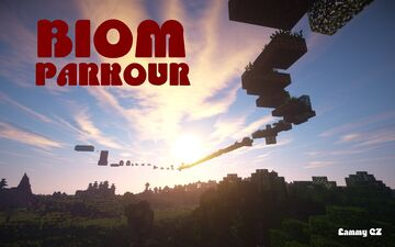 Biom Parkour Map Minecraft Map & Project
