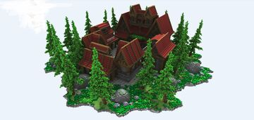 Spawn / Lobby - 150x150 Minecraft Map & Project