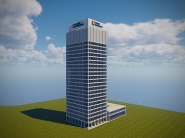 First Horizon Bank Minecraft Map & Project