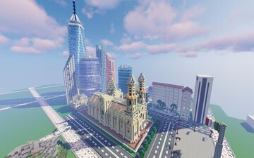 city of skyscrapers Minecraft Map & Project