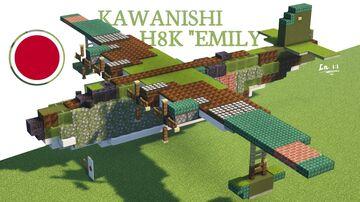 Kawanishi H8K Minecraft Map & Project