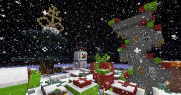 Yule Town Minecraft Map & Project