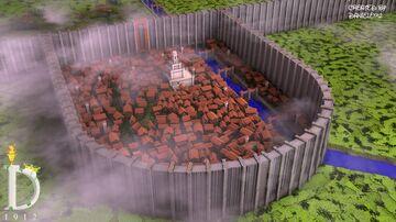 ⚜️Attack on Titan: Shiganshina MAP! DOWNLOAD !! Minecraft Map & Project