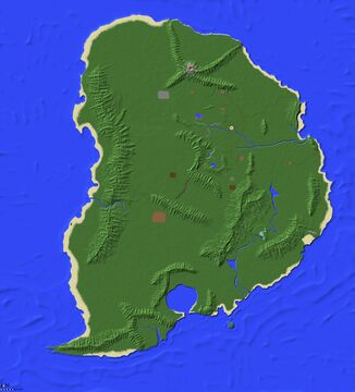 Isla Nublar 2018 Minecraft Map & Project