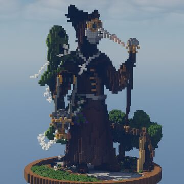 Plague Doctor Minecraft Map & Project