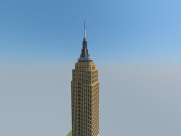 Empire State Building, New York, United States Of America Minecraft Map & Project
