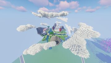 HydraCraft || Pokemon Flying Gym Spawn - Gym - City - Town (Discord for commissions) Minecraft Map & Project