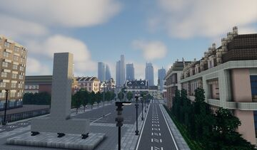 Austow the city 1.16 (Solo built for fun) [unfinished][updated] Minecraft Map & Project