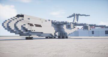 Lockheed Martin C-5M Super Galaxy [1:1] Minecraft Map & Project