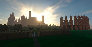 Hogwarts Castle from the Books Minecraft Map & Project