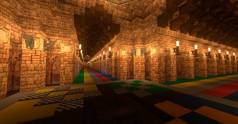 3rd Floor Corridor and Charms Corridor
