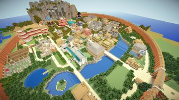 Naruto Map Minecraft Map & Project