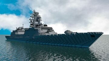 Vietnam people's navy - destroyer ship class Quang Trung (Nguyễn Huệ) Minecraft Map & Project
