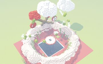 Sumo ❯ Apple land Map Minecraft Map & Project