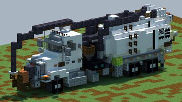 Peterbilt 357, Septic pump truck [With Download] Minecraft Map & Project