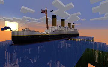 RMS Titanic 1.14x version Minecraft Map & Project