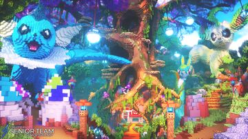 Pokemon Forest Hub Minecraft Map & Project