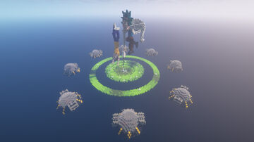 SkyWars map - Rick&Morty Minecraft Map & Project