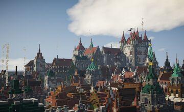 Burg von Berunawacht / Castle of Berunawacht Minecraft Map & Project