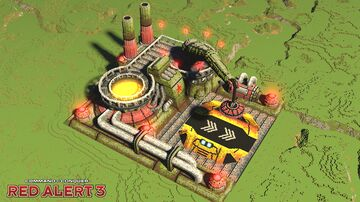Soviet ore refinery | C&C Red Alert 3 Minecraft Map & Project