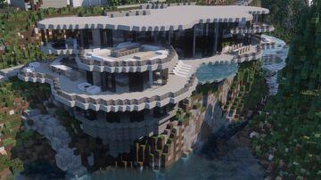 Cliffside Modern Minecraft Map & Project