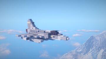 1.5:1 Scale Dassault Mirage 2000 Minecraft Map & Project