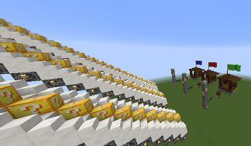 Mapa Escadona de Lucky Block Minecraft Map & Project